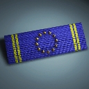 Euro Forces Service Ribbon